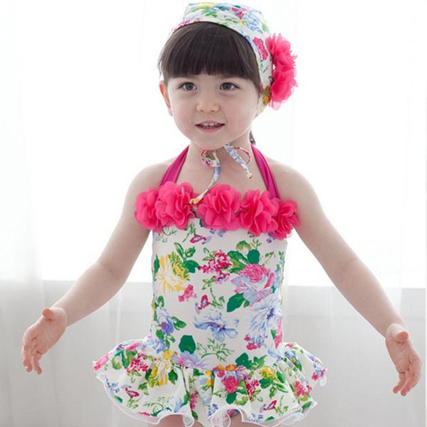 엠케이플라워패턴수영복