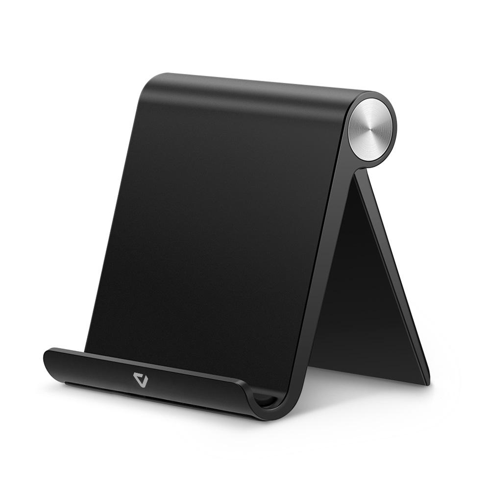 펀디안 멀티앵글 스탠드 휴대폰 거치대 표준형, Black, 1개