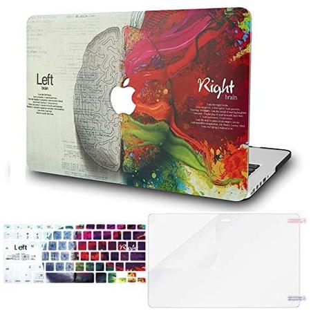 맥북 프로 13인치 2020 하드 케이스 P195 키스킨 액정보호필름 KECC Laptop Case for MacBook Pro 13 (202, One Color