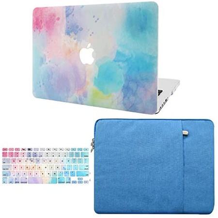 맥북 프로 13인치 2020 하드 케이스 P228 키스킨 파우치 KECC Laptop Case for MacBook Pro 13 (202020192, One Color