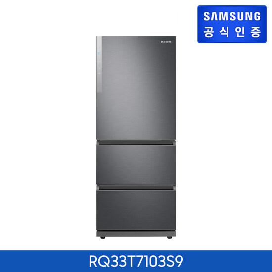 [신세계TV쇼핑][삼성] 김치플러스 3도어 김치냉장고 RQ33T7103S9, 단일상품