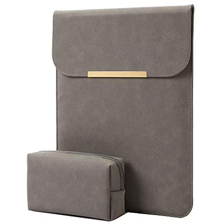 맥북 프로 13인치 2020 가죽 파우치 P199 KALIDI 13.3 inch Laptop Sleeve Case Faux Suede Leather for M, One Color