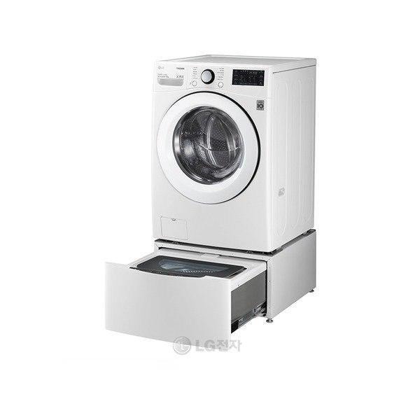 [LG전자] TROMM 트윈워시 세탁기 F17WDBPM / 17kg+4kg, 상세 설명 참조