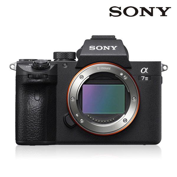 [신세계TV쇼핑][소니] SONY 풀프레임 미러리스 A7 III BODY A7M3, 단품