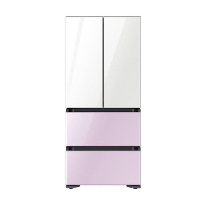 삼성전자 비스포크 스탠드형 김치냉장고 RQ48T941178(486L) [Glam White+Glam Lavender], 단일상품